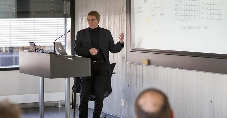 Giulio Tononi gave tutorial on Integrated Information Theory
